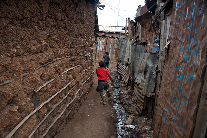Boy in Kibera, Nairobi