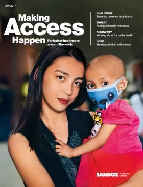 Sandoz Making Access Happen - July 2017 Cover