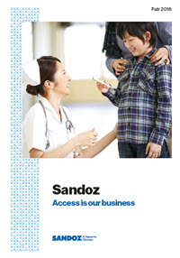 Sandoz Pocket Book Cover