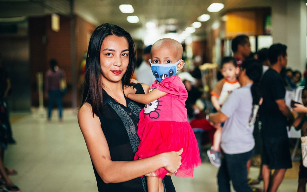 Scheharazade Del Rosario is 23 years old and mother to Precious Pearl