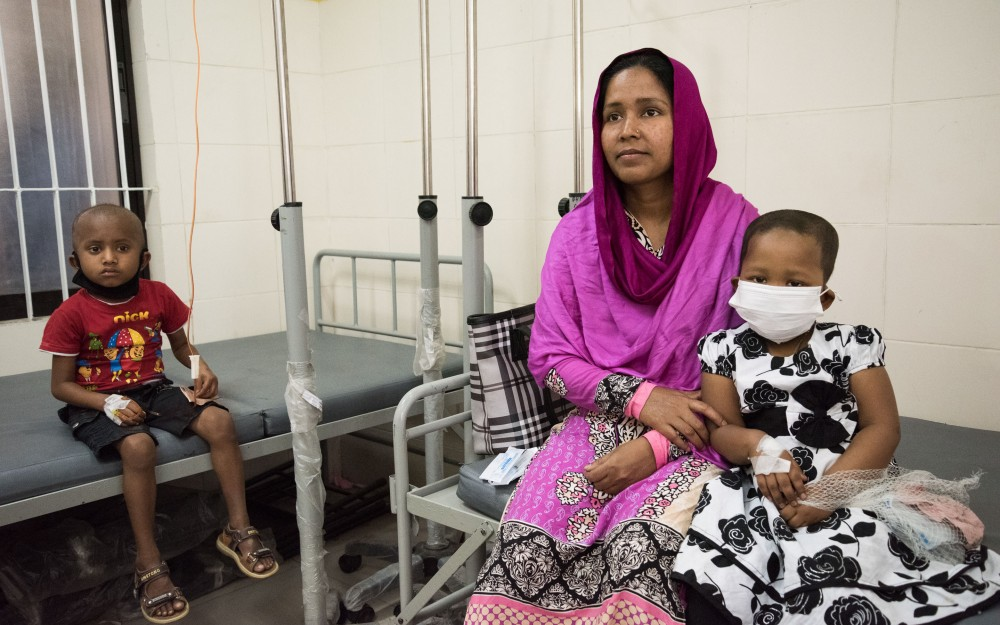 1 of 7 It is estimated that fewer than one in four cases of childhood cancer is diagnosed in Bangladesh.