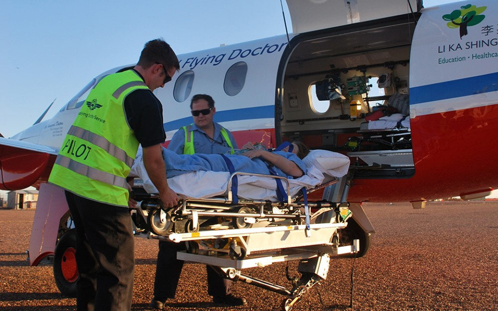 In addition to 24-hour emergency response, patient transports between medical facilities for critical or specialist care belong to the aeromedical flights performed