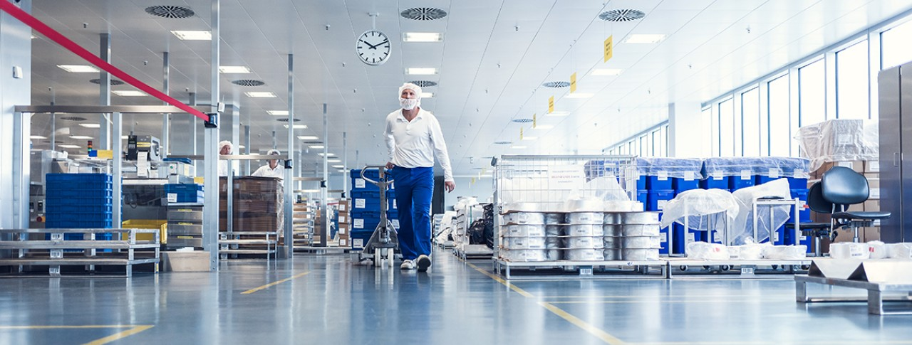 Medicines start their journey from the pharmaceutical manufacturing site