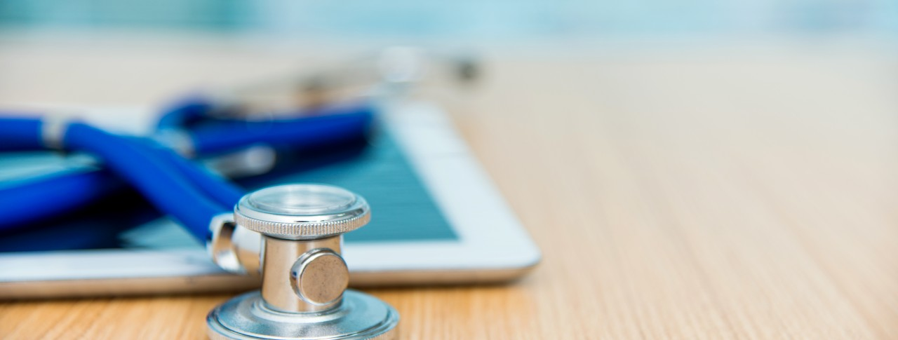 With tablets or smartphones, physicians and patients can have access to medical